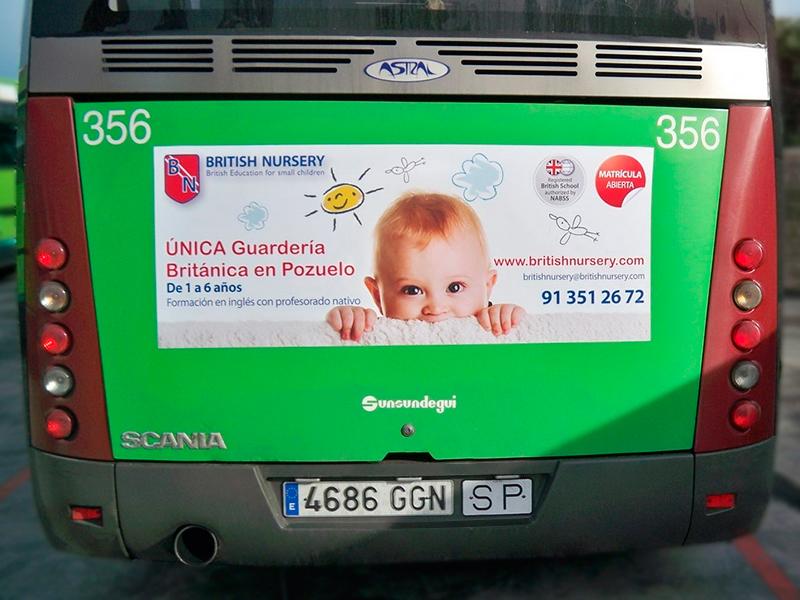 British Nursery autobuses