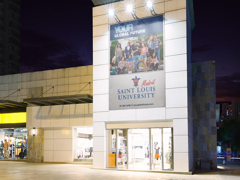 Saint Louis University centro comercial