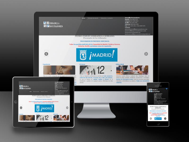 Serradilla Procuradores web