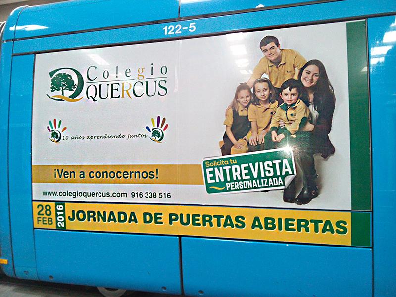 Colegio Quercus - metro ligero