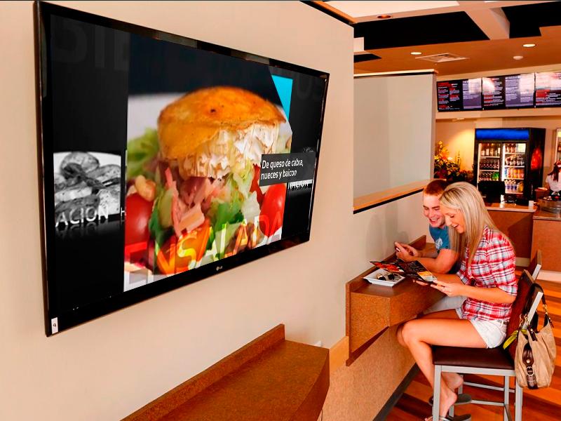 Servicios gráficos y web para hostelería - Digital Signage