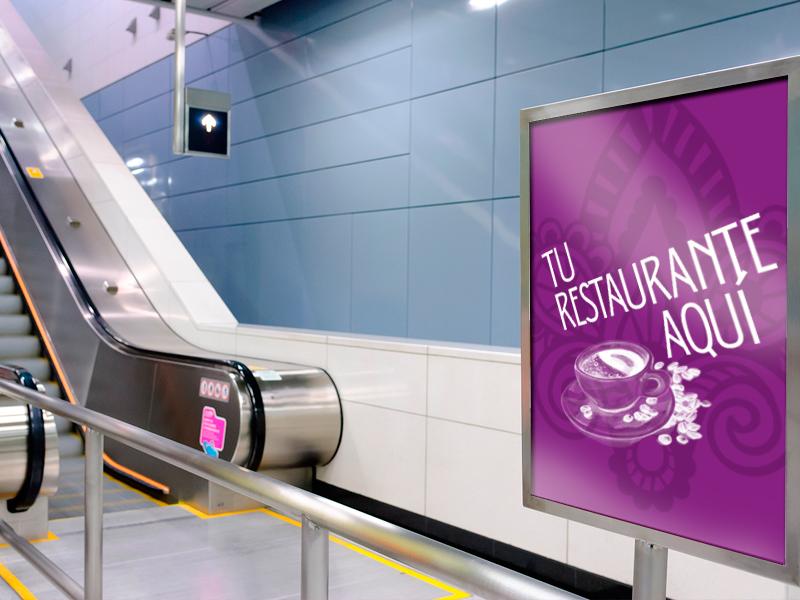 packs hosteleria publicidad metro