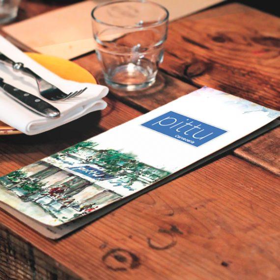 carta restaurante Pittu