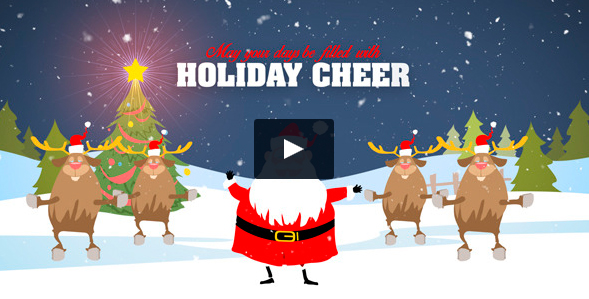 11. Video christmas Santa Claus baila