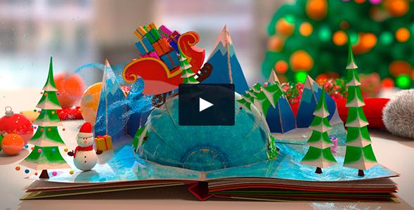 08. Video christmas Libro 3D