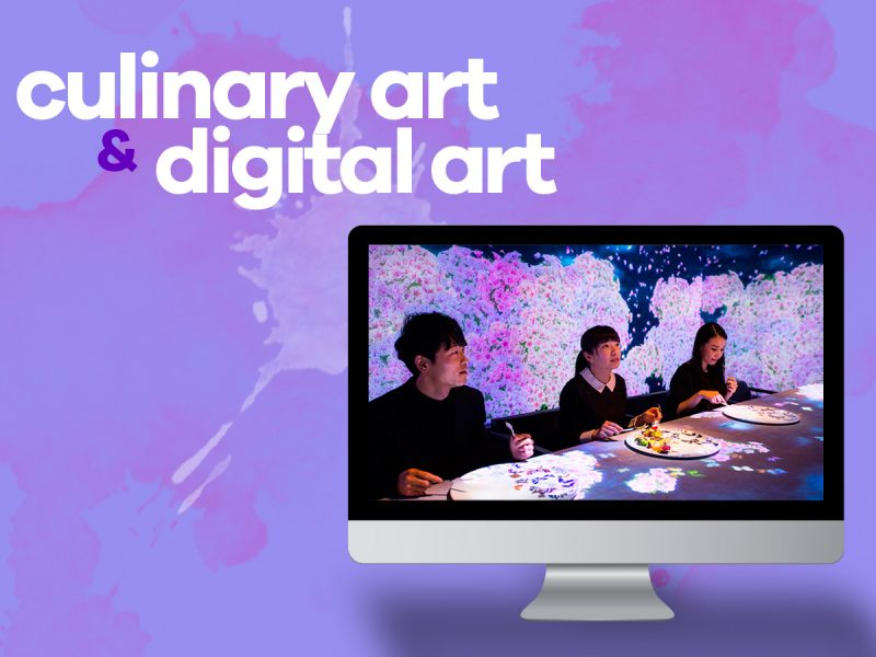 Culinary and digital art