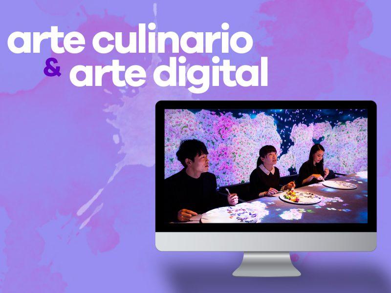 Arte culinario y arte digital