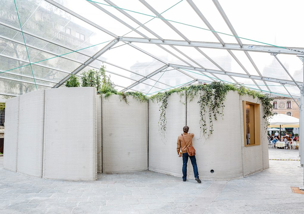 Casas impresas en 3D de Massimiliano Locatelli