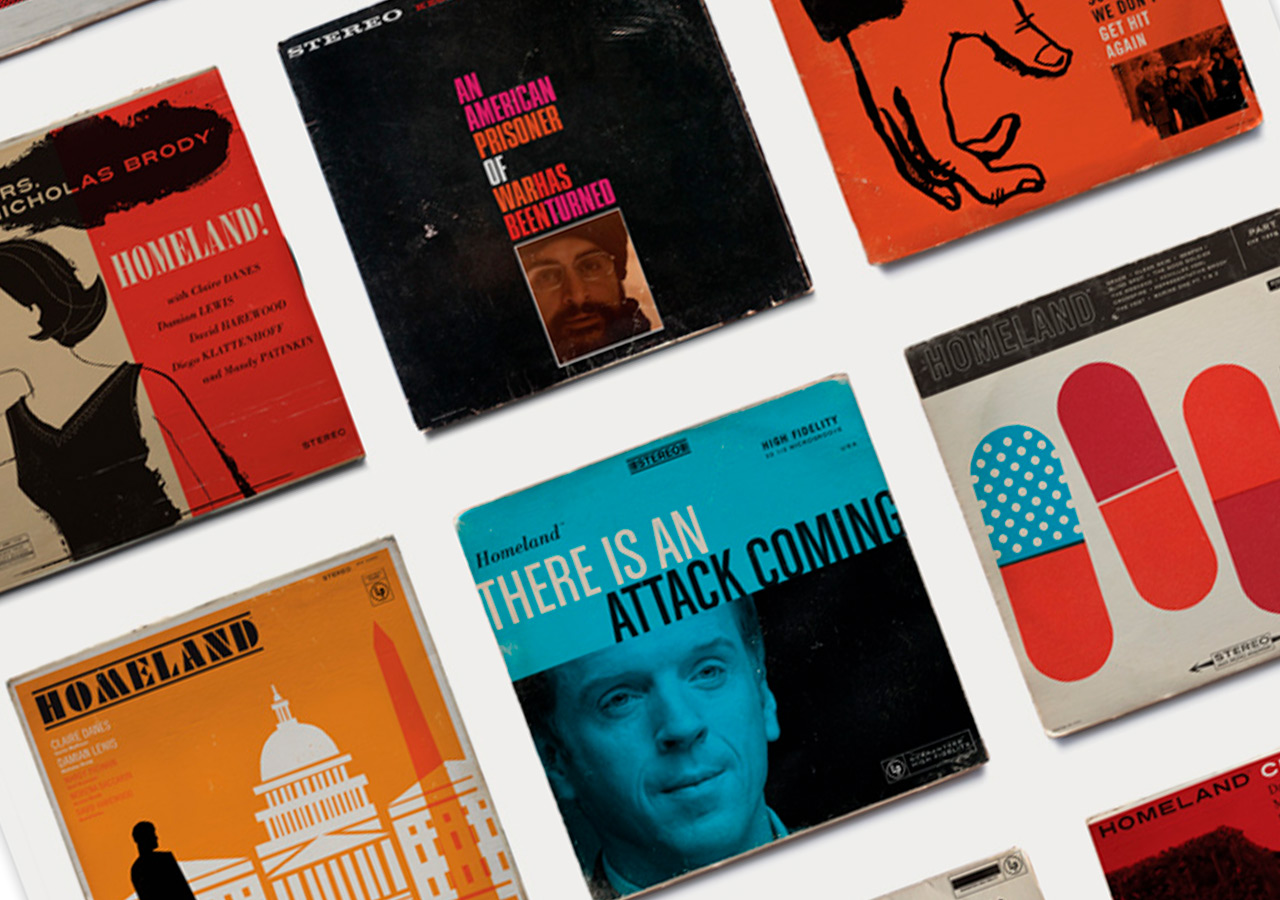 Jazz album covers inspired in Homeland