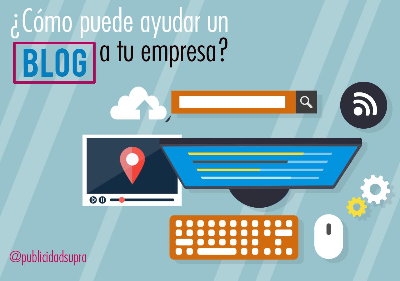 Cómo puede ayudar un blog de empresa al marketing digital?