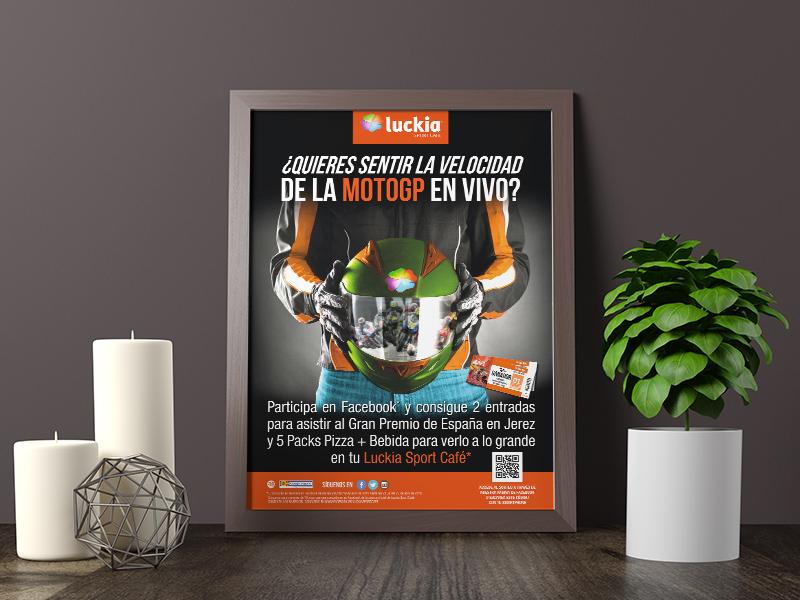 Luckia Sport Café - Cartelería
