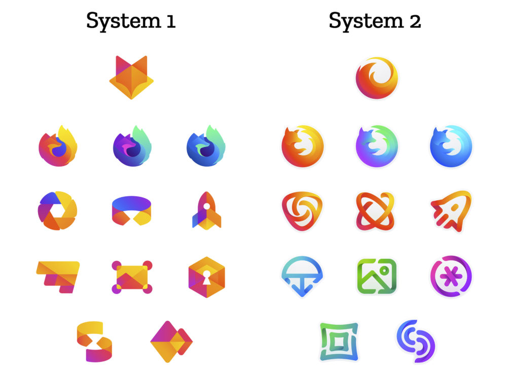 Propuestas para el nuevo logotipo de Firefox