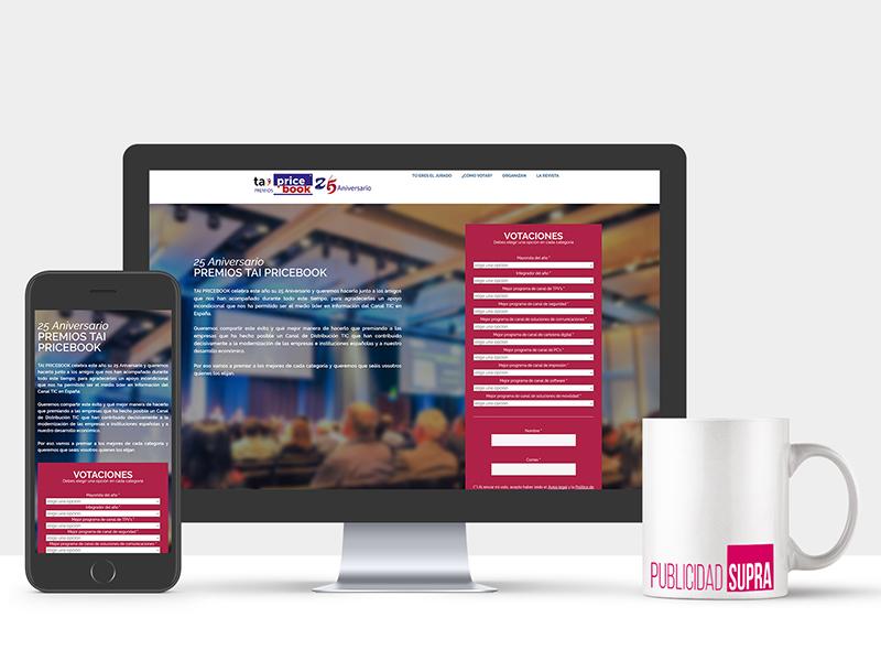 TAI Pricebook - Landing page