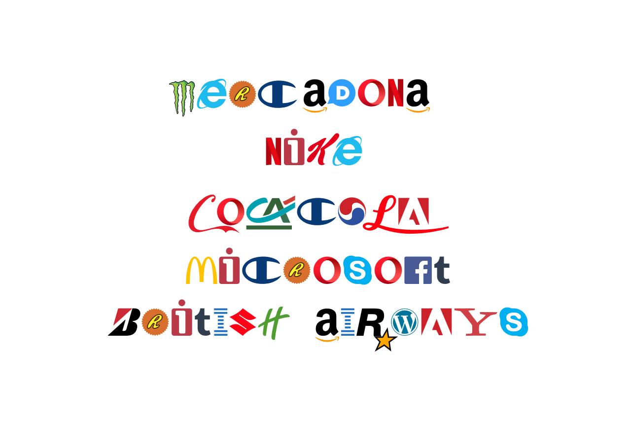 Brand New Roman, la tipografía de las marcas