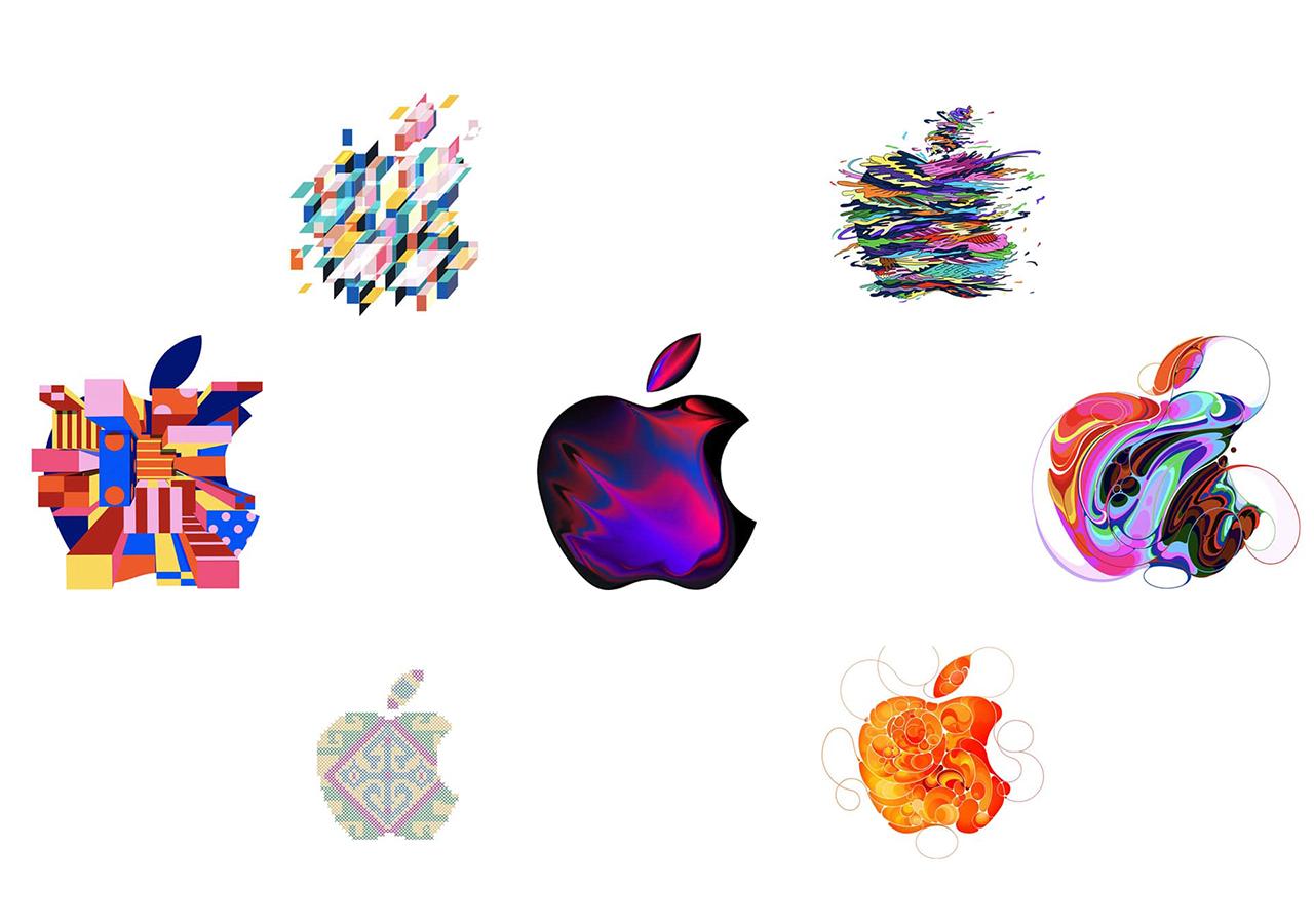 Apple customiza su logo para la presentación del iPad