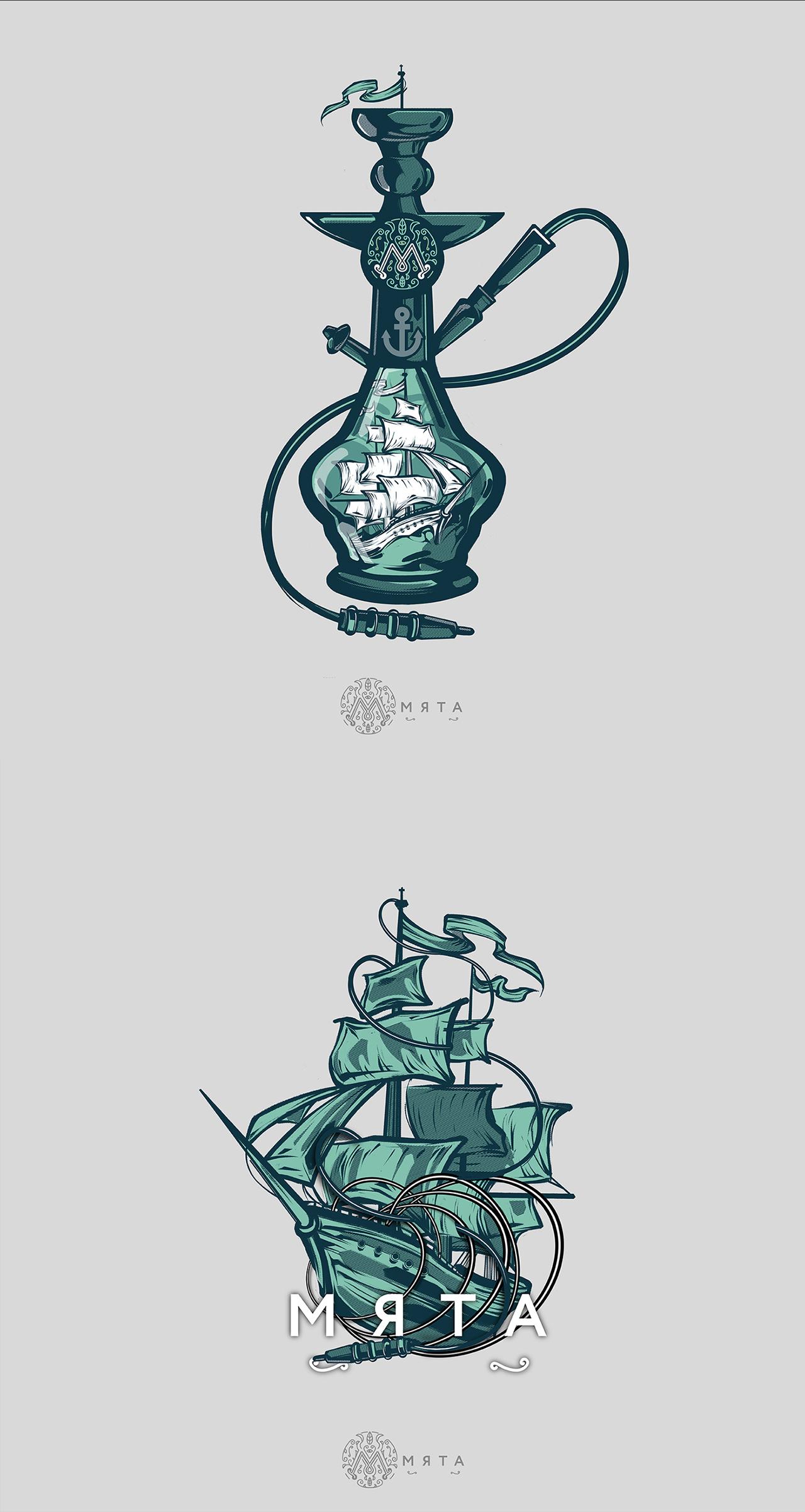 La ilustración de Artem Pavlov
