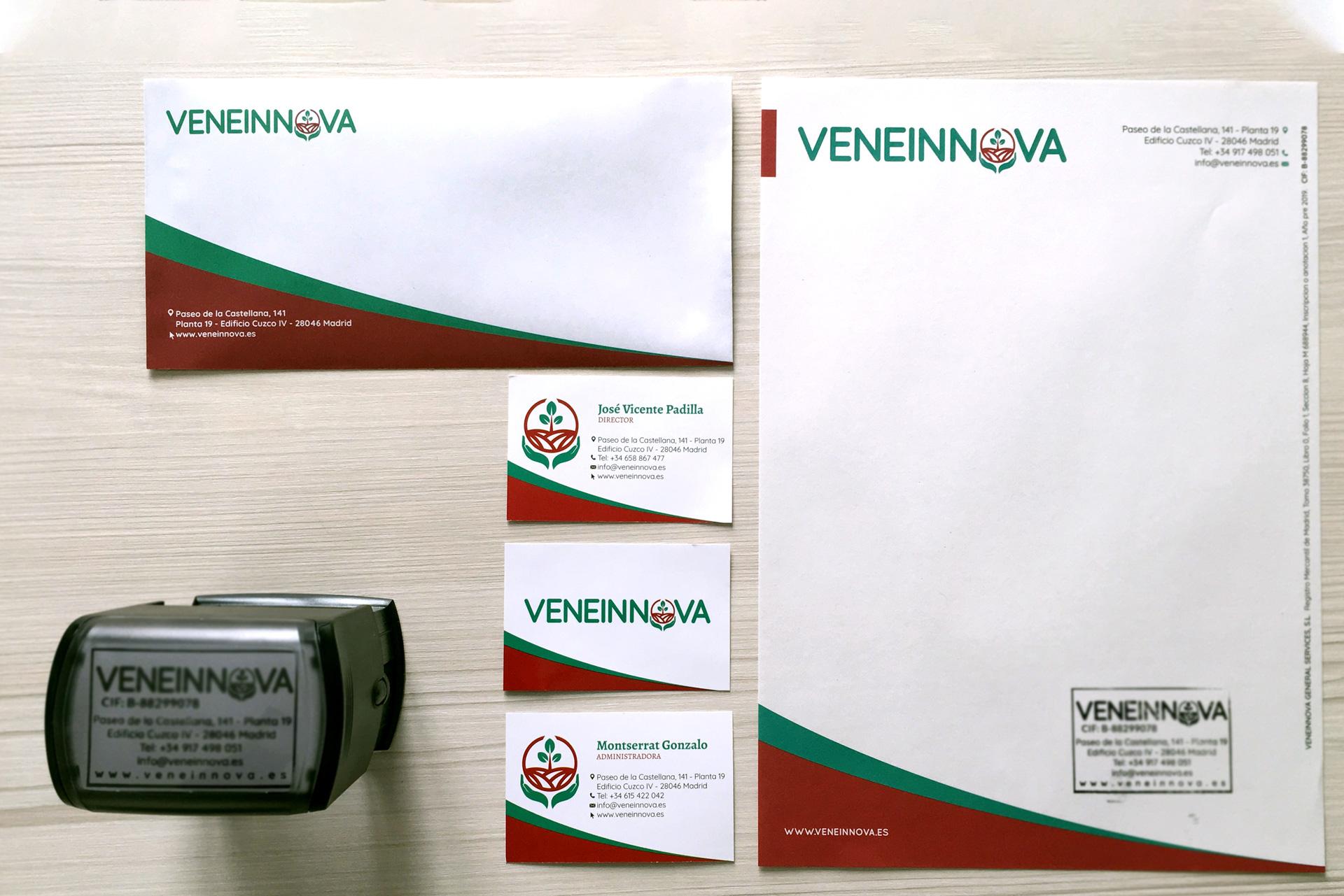 Veneinnova - Papelería corporativa