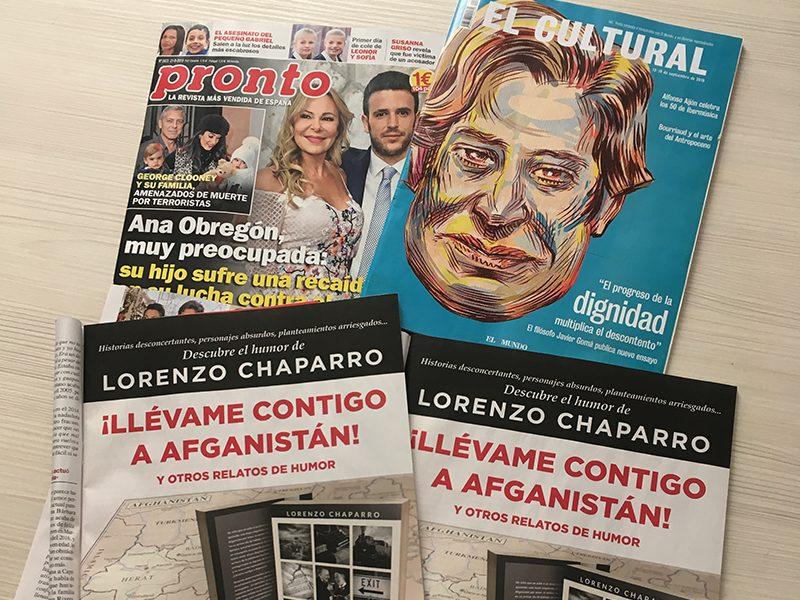 Lorenzo Chaparro - Publicidad en prensa