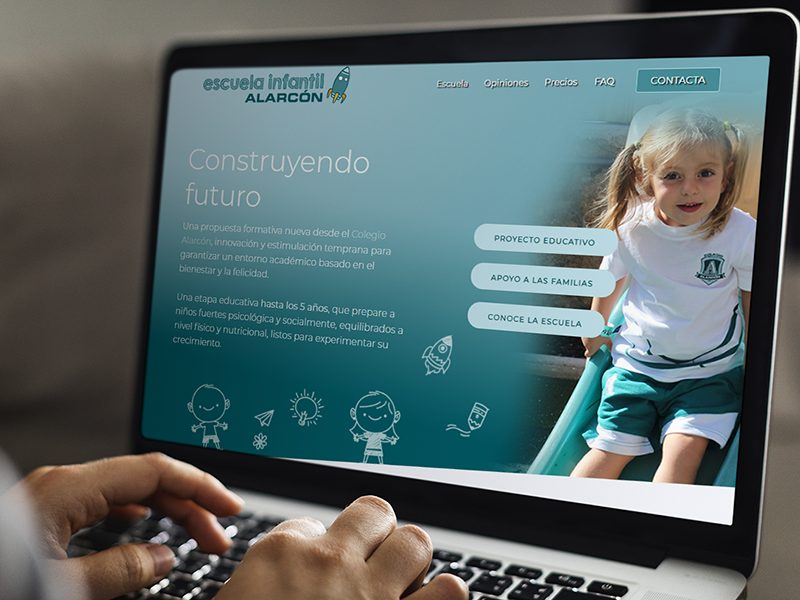 Escuela Infantil Alarcón - Web